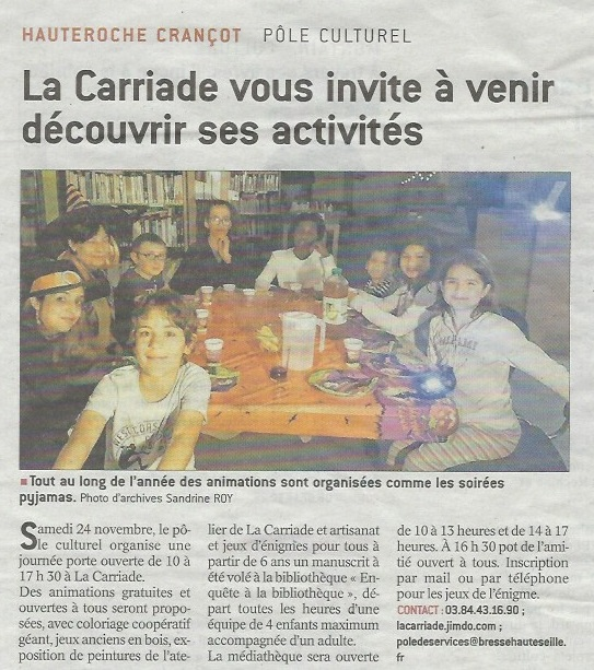 Article PO CARRIADE